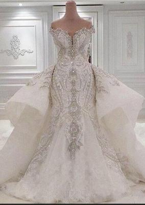 Brautkleid mit Spitze und Glitzer | Hochzeitskleider Online Kaufen_2