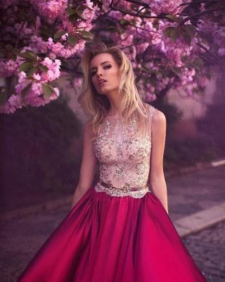 Elegante Abendkleider Lang Mit Spitze | Günstig Abendmoden Fuchisa Online_2