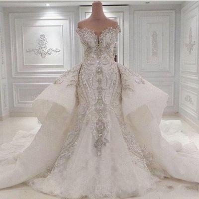 Brautkleid mit Spitze und Glitzer | Hochzeitskleider Online Kaufen_1