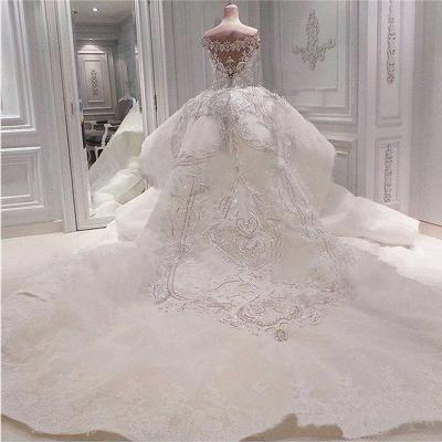 Brautkleid mit Spitze und Glitzer | Hochzeitskleider Online Kaufen_3
