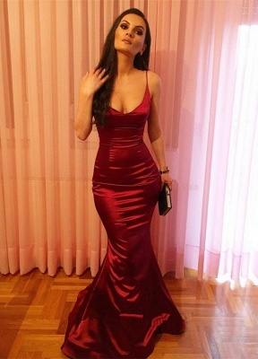 Sexy Rote Abiballkleider Lang Günstig Online Bodenlang Abendmoden 2020_1
