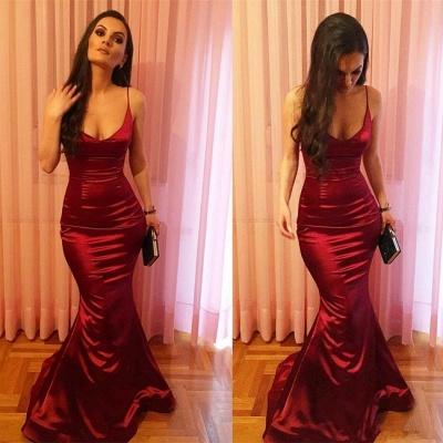 Sexy Rote Abiballkleider Lang Günstig Online Bodenlang Abendmoden 2020_2