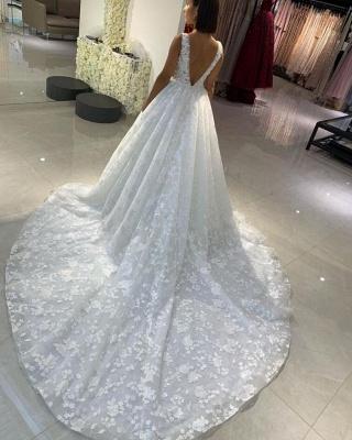 Fashion Prinzessin Brautkleider A Linie | Spitze Hochzeitskleider Online_2