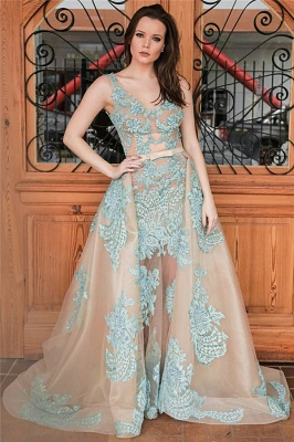 Green evening dresses long lace | Prom dresses cheap prom dresses