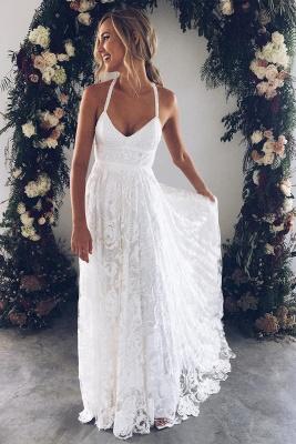 Fashion Weiße Hochzeitskleider Spitze Etuikleider Brautkleider Günstig Online_1