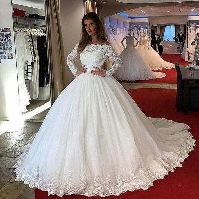 Designer Brautkleider mit Ärmel | Prinzessin Brautmoden Hochzeitskleider_2
