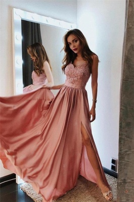 Fashion Evening Dresses Long Cheap | Prom dresses with lace_1