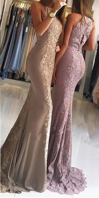 Elegant Evening Dresses Long With Lace Chiffon Evening Wear Prom Dresses Online_2