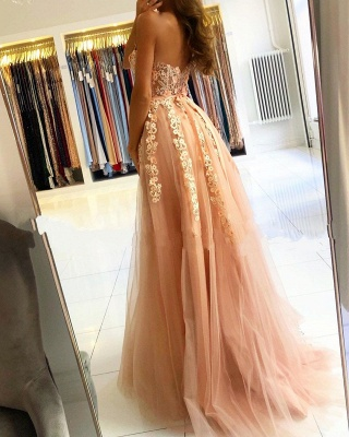 Cheap evening dress with lace | Prom dresses evening wear online_2