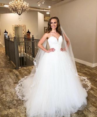 Wunderschöne Hochzeitskleider Prinzessin | Brautkleider Mit Spitze_2