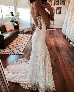 Wedding Dresses V Neck Cheap | Wedding dresses with lace_2