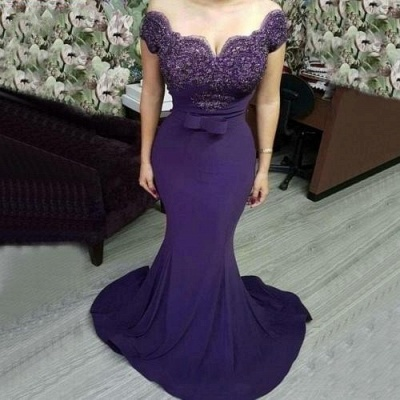 Elegant evening dresses with lace | Evening wear cheap prom dresses_2