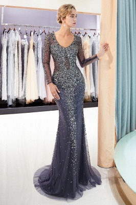 Luxury prom dresses with sleeves long prom dresses cheap online_3