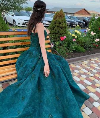 Dunkel Grüne Abendkleider Spitze | Abendmoden Abiballkleider Online_3