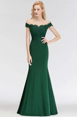 Elegant Bridesmaid Dresses Green Long With Lace Bridesmaid Dresses_1