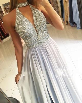 Elegante Abendkleider Lang Chiffon Abiballkleider Abendmoden Günstig Online_2