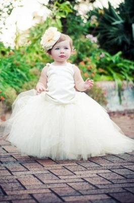 Gelb Prinzessin Blumenmädchenkleider Online Günstige Kleider Blumenkinder Hochzeit