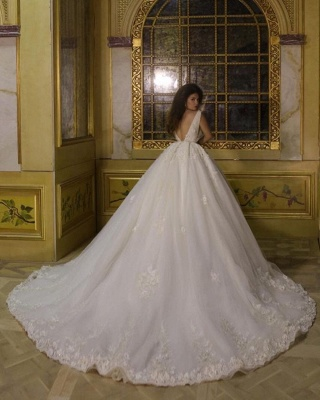 Modern Princess Wedding Dress With Lace | Wedding Dress Cheap Online_2
