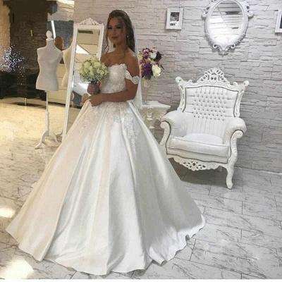 Wunderschöne Brautkleider A Linie | Hochzeitskleider Günstig Online_2