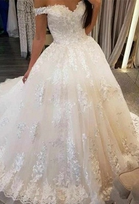Beautiful wedding dresses princess online | Wedding dresses with lace_1