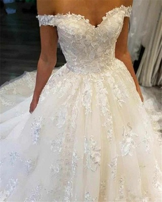 Beautiful wedding dresses princess online | Wedding dresses with lace_3