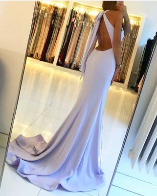 Schlichte Abendkleider Lang Günstig | Chiffon Kleider Lang Online_2