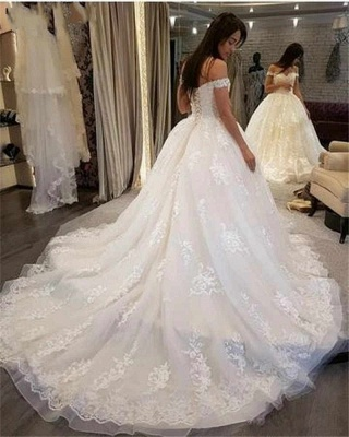 Beautiful wedding dresses princess online | Wedding dresses with lace_4