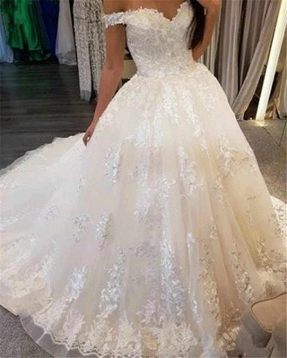 Beautiful wedding dresses princess online | Wedding dresses with lace_2