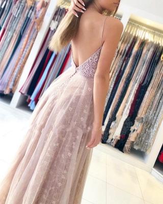Designer Abendkleider Mit Spitze | Abiballkleider Lang Online Kaufen_4