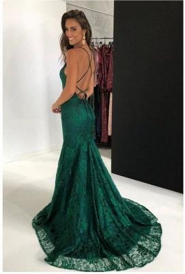 Fashion Abendkleid Lang Rot   Abiballkleid Spitze Günstig Online_3