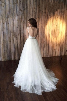 2 dividers wedding dresses lace cheap straps tulle bridal wedding dresses_4