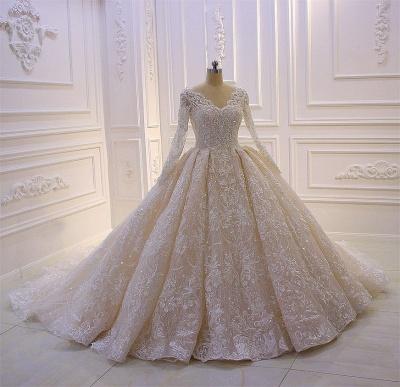 designer brautkleider luxus  spitze hochzeitskleider mit Ärmelalinie brautkleider