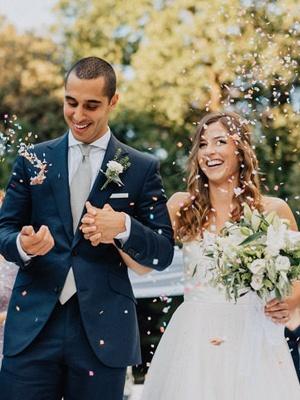 Elegante Hochzeitskleider Spitze und Schlicht Etuikleider Tüll Brautkleider_3