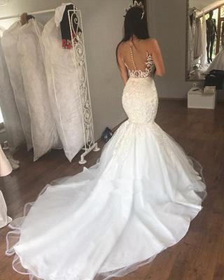 Festliche Kleider Zur Hochzeit Weiße Hochzeitskleider Spitze_2