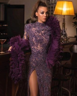 Luxus Abendkleider Lang Glitzer | Abiballkleider Abendmoden Mit Spitze_3
