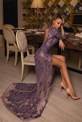 Luxus Abendkleider Lang Glitzer | Abiballkleider Abendmoden Mit Spitze_1