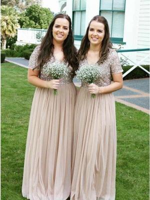 Elegante Brautjungfernkleider mit Ärmel | Kleider für Brautjungfern_2
