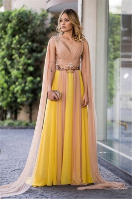 Women's evening dresses cheap long chiffon dresses online_1