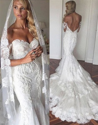 Sexy Brautkleider Spitze Herz Ausschnitt Hochzeitskleider Günstig Online_1