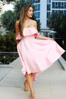 Beautiful bridesmaid dresses pink short | Dresses for bridesmaids_2
