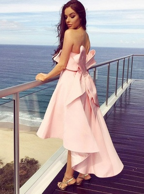 Beautiful bridesmaid dresses pink short | Dresses for bridesmaids_3