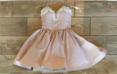 Champagne short cocktail dresses buy cheap a line prom dresses online_3