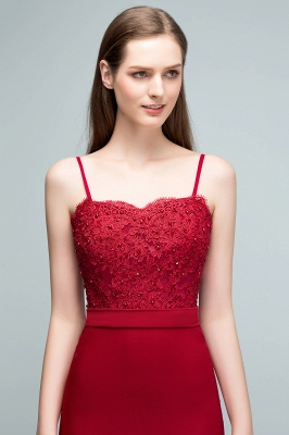 Elegant evening dresses long with lace wine red prom dresses for sale online_3