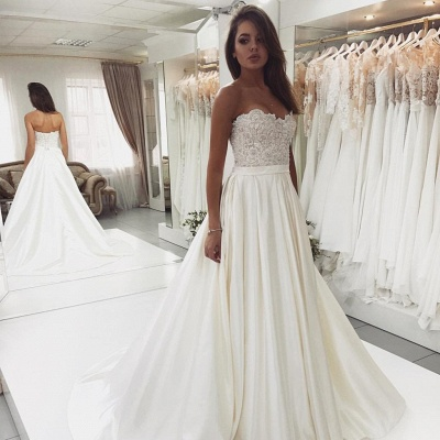 Designer Wedding Dresses A Line | Wedding dresses with lace_2