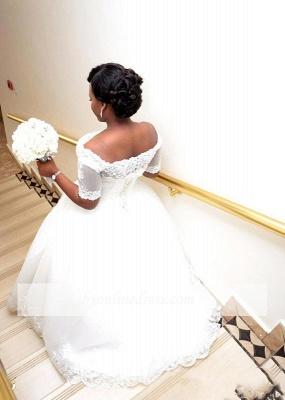 Brautkleider Große Grüße Mit Ärmel Spitze Hochzeitskleider ÜberGröße Online_3