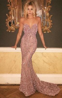 Designer evening dresses long cheap beaded prom dresses buy online_1