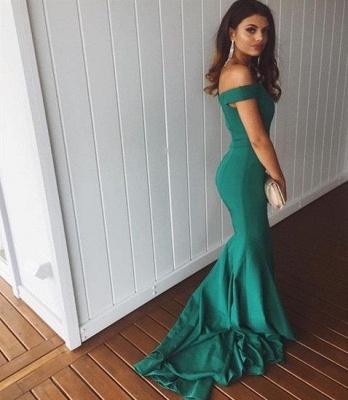 Dunkel Grün Abendkleider Lang Günstig Chiffon Abiballkleider Abendmoden Online_2
