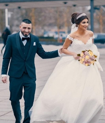 Prinzessin Brautkleider Tüll | Hochzeitskleider Günstig Online_1