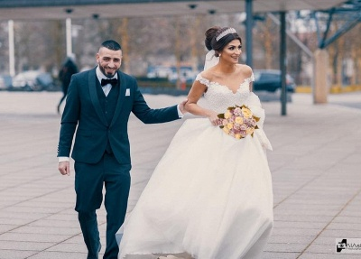 Prinzessin Brautkleider Tüll | Hochzeitskleider Günstig Online_2