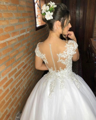 Fashion wedding dresses princess | Wedding dresses with lace_2